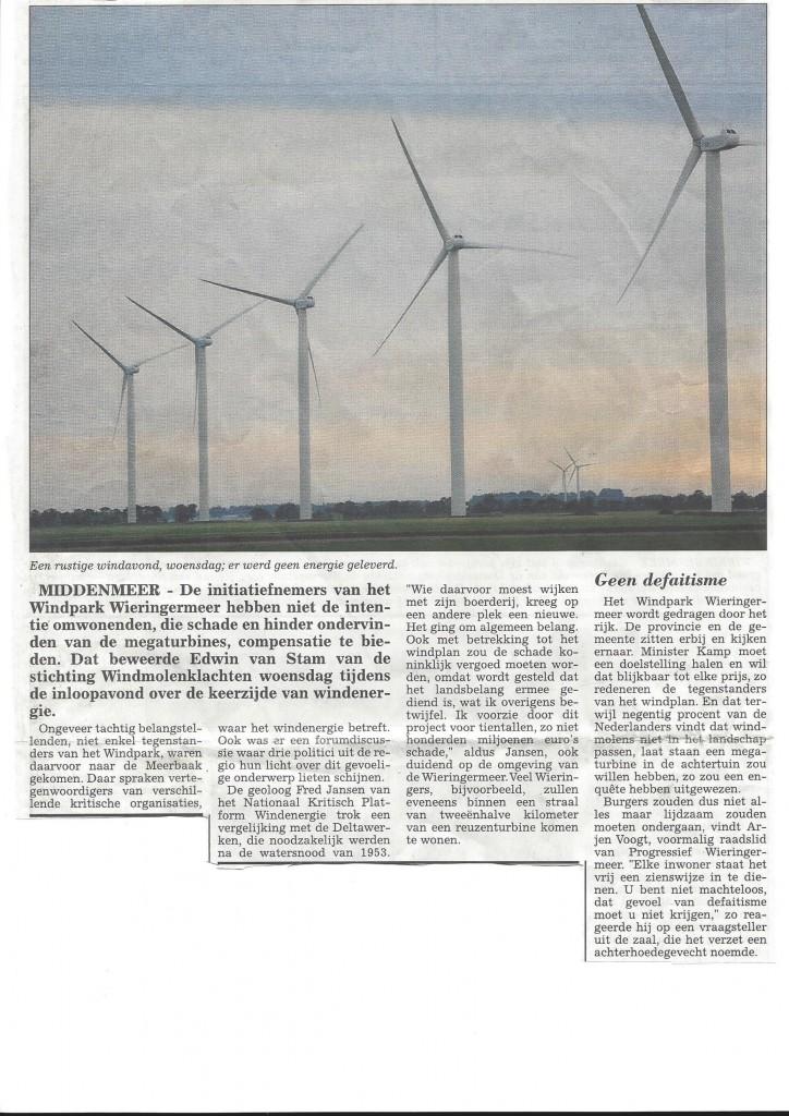 Wieringermeerbode 4-7-2014