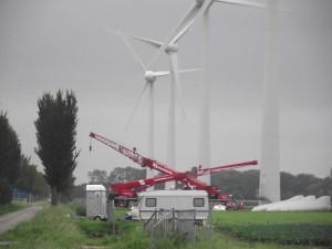 Windturbines Wieringermeer